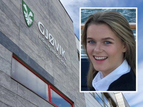 UTFORDRENDE SKOLESTART: Timeplaner som stadig kastes om på og tettpakkede klasserom er blant utfordringene elevene ved Gjøvik videregående skole har ved skolestart.