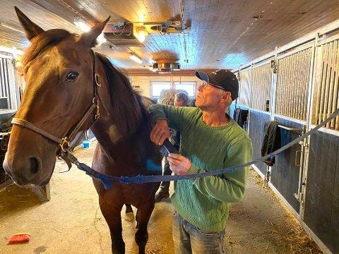 Derbyklar: Steinar Hammersborg med hoppa Dutchess Fresell.