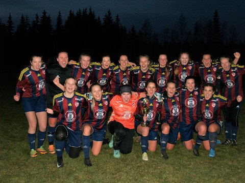 IKKE LAG: Eina/Bøverbru/Reinsvoll ble kretsmestere i 2019. Det ble også foreløpig den siste kampen samarbeidsklubben spilte. I 2021 klarer de ikke stille lag.