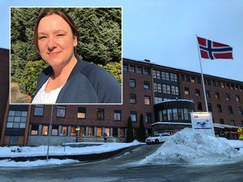 PÅKJENNING: Leder for NSF Innlandet, Ida Høiby, forteller at det er en stor påkjenning for samtlige som jobber på et sykehus, og hun tror de smittede ansatte nå har det tøft.