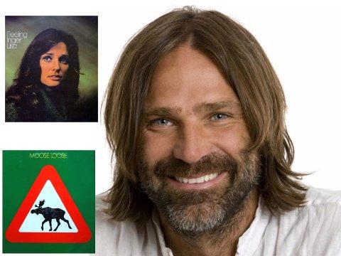 PLATEPLANER: Christer Falck håper at det blir såpass med trøkk rundt utgivelsene at både Inger Lises  «Feeling» og Moose Loose' «Elgen er løs» får nytt liv i CD-format.