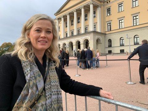 SPENT: – Jeg opplever det som en voldsom tillitserklæring, og tok imot spørsmålet med skrekkblandet fryd, sier Kjersti Bjørnstad (Sp) som er ny statssekretær.
