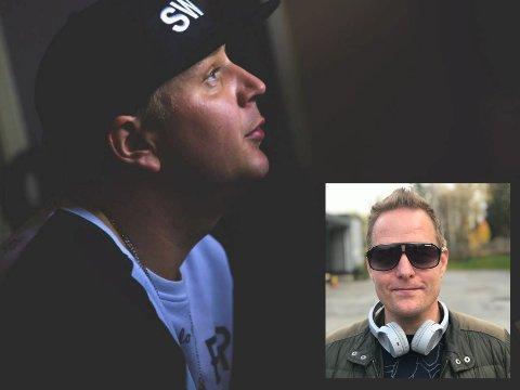 LÅTER PÅ LAGER: Rodmar Johansen (innfelt) ønsker at flere skal høre låtene han og Spira laget sammen.