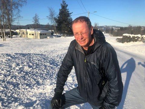 TØFT ÅR: Alf Greve Monsen ble smittet av covid-19 tidlig i mars 2020. Han er fortsatt ikke hundre prosent frisk etter en tøff sykdomsperiode.