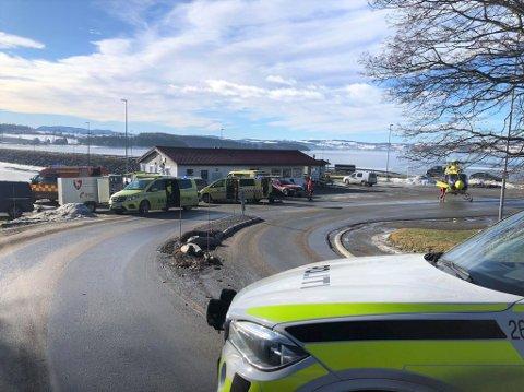 ULYKKE: Ved Nessundet i Ringsaker druknet en mann forrige fredag. Det var det andre drukningsdødsfallet i Innlandet i år.