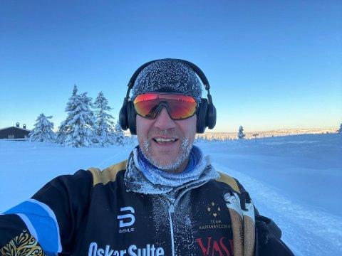 LIKER KULDE: Paul Håvard Østby plages ikke av mange kuldegrader når han går på ski.