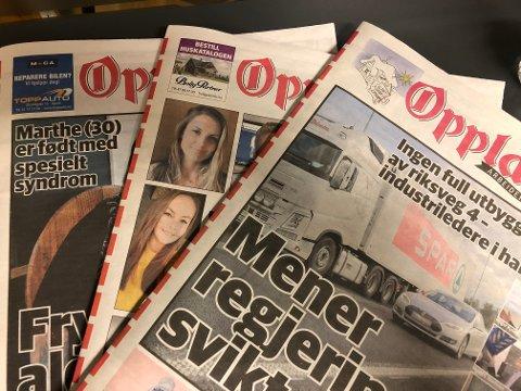 PAPIR OG NETT: Kun 171 av OAs abonnenter har kun abonnement på papiravisa, mens 9453 kun har OA digitalt.