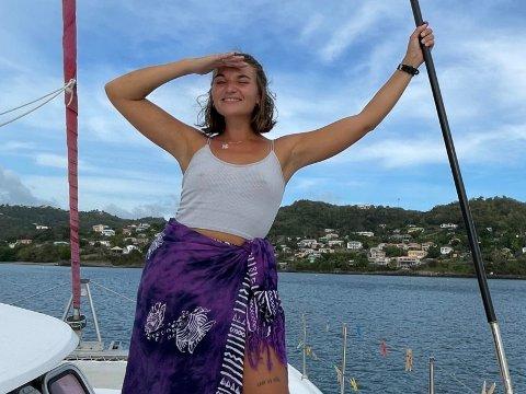 NYTT FARVANN: Det har tatt sin tid, men 9. april slipper Nora Jabri endelig ny musikk igjen. Denne gangen har hun stått for tekst og musikk selv, og fra sin utvidede feriehavn i Karibia er hun mildt sagt spent på mottakelsen.