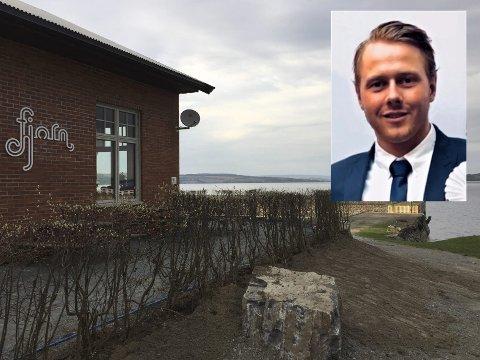NYE KREFTER: Christophe Braastad gleder seg til å begynne i jobben som daglig leder ved restauranten Fjorn på Kapp.