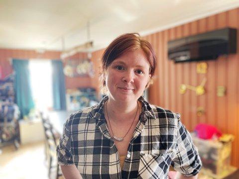 Jeanette Rudrud fra Lillehammer ble uføretrygdet på grunn av sykdom.