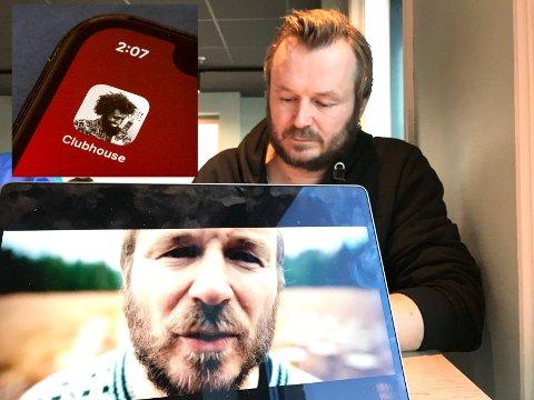 TIDLIG PÅ'N: Da Clubhouse ble gjort tilgjengelig i Norge i februar, var Knut Anders Sørum  raskt på pletten og fikk ordnet seg tilgang.