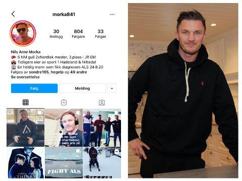 HACKET: Nils Arne Morka opplevde at Instagram-kontoen hans ble hacket. Nå har han mistet alt og må begynne på nytt.