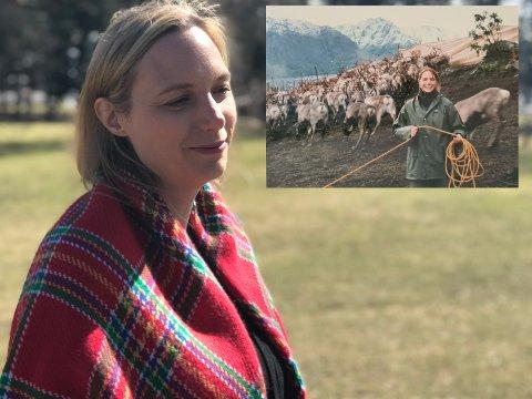DRØMMEN OM VIDDA: Susanne Vallesæter var 17 år da hun flyttet fra Reinsvoll til Kautokeino for å lære mer om reindrift (innfelt). Der ble hun i over 20 år, men nå er hun tilbake og vil lære oss mer om den samiske kulturen.