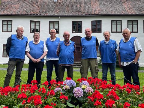 ARRANGØRER:  Fra venstre: Tor Arne Rudsengen, Jam Mathisen, Håvard Lervold, Bjørn Holthe, Dag Kløvstad, Knut Jørgen Hanssen og Bjørn Aamodt.