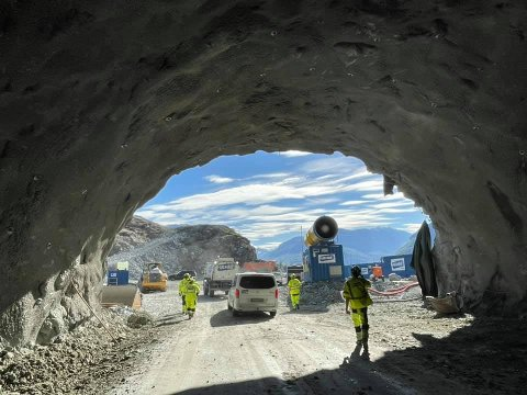UTSIKT: Hele Vang åpenbarer seg når bilistene neste år kan kjøre gjennom den nye tunnelen forbi rasfarlige Kvamskleiva. FOTO: FACEBOOK-GRUPPEN KVAMSKLEIVA