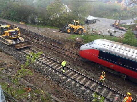 VEDLIKEHOLD: I statsbudsjettet for 2016 legges det opp til en økning av vedlikeholdet av jernbanenettet.