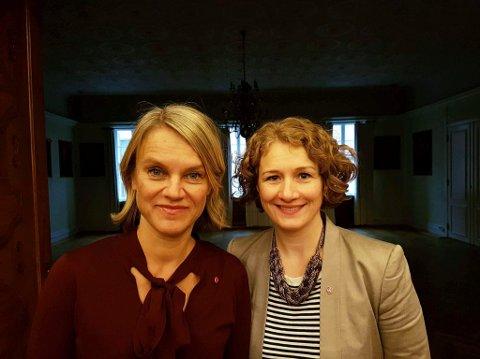 Nina Sandberg, Nesodden og Tuva Moflag fra Ski ble begge nominert på sikre plasser til neste års stortingsvalg.