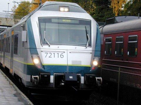 BUSS FOR TOG: Ingen tog går mellom Ski og Mysen fra klokken 08.45 til 13.45 manda til fredag i uke 43.