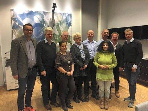 NYTT LOKALLAG: Fremskrittspartiet lokalt forbereder seg på kommunesammenslåing, og har lagt ned lokallagene Oppegård og Ski, samtidig som Nordre Follo FrP er etablert.