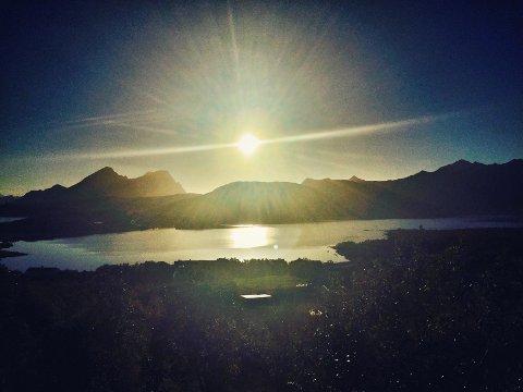 Til uken er det nord-Norge som får det beste været. Dette bildet er fra Lofoten i fjor høst. Magisk...