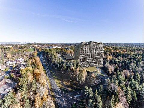 REAGERER: Naboene på Sofiemyr er fortsatt bekymret både for høyden og plasseringen av hotellet ved The Well.