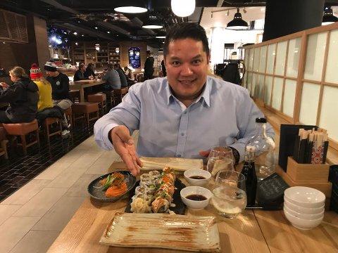 HELT RÅTT: Jonathan Romano er restaurantgründeren fra Oppegård som nå nyter å ha tid til å reflektere - og å planlegge nye prosjekter.