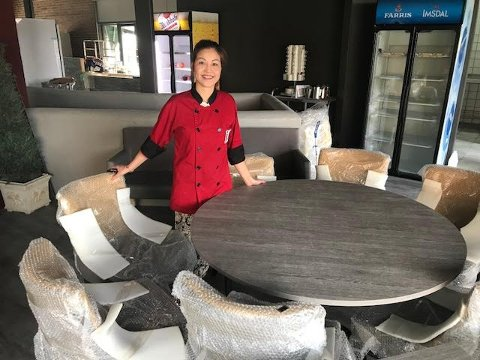 GLEDER SEG: Hao Nguyen har lenge ventet på muligheten for at Sushisøstrene kunne åpne en ordentlig thai-restaurant. 14. juli åpner de.
