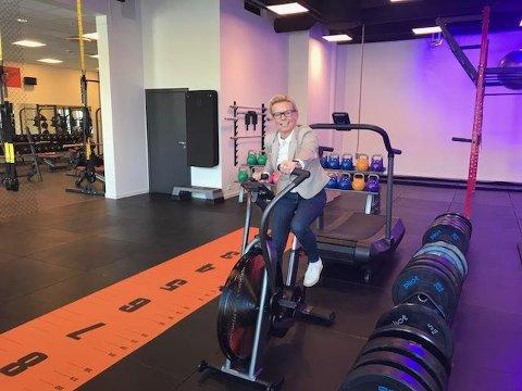 EFFEKTIVT: Tung trening og raske intervaller med minst mulig belastning kjennetegner Crossfit, forteller Mia Rojahn.