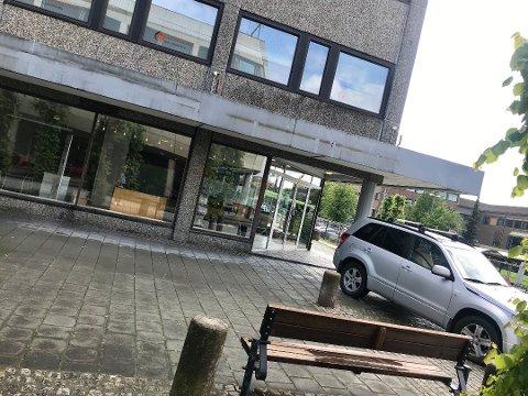 BLIR PUB: Gulating pub flytter inn i lokalene etter Den danske bank i gågata i Ski, i første halvdel av 2020.