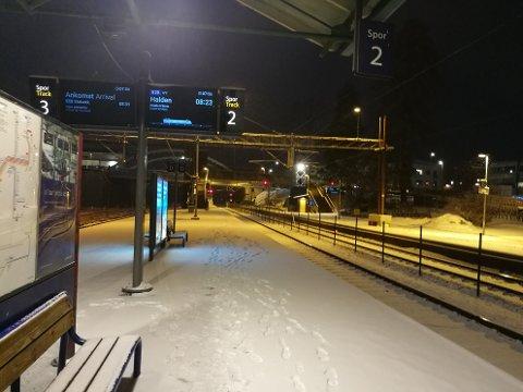 UTVIDET TILBUD: Vy har utvidet reisetilbudet på Østfoldbanen.