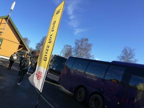 BUSS FOR TOG: Det er satt opp busstransport mellom Ås og Oslo.