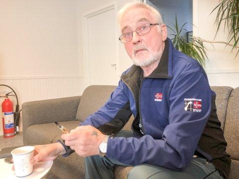 SLITER MED TRAUMER: Sigmund Jacobsen (71) sliter med traumer etter at kona Gunn Harriet (60) gikk bort.