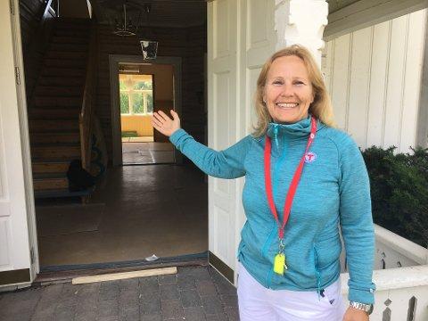 Marit Skjerven er den nye lederen for Breivoll gård og jobber tett med DNT for å gjøre området til et friluftsareal for alle.