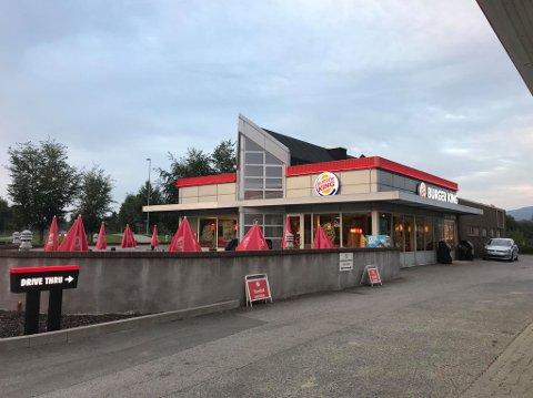 MULIG MATFORGIFTET: Etter et måltid på Burger King ble fire av fem jenter syke. Foto: Carina Sofie Pevik