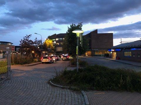 FLYTTES: Taxiholdeplassen flyttes midlertidig fra Narvesen til bussterminalen ved Ski storsenter.