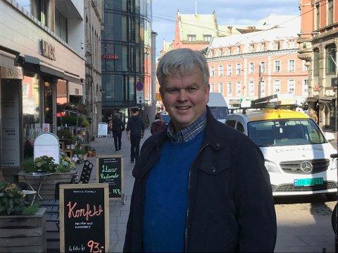 VIL SAMARBEIDE: Tønnes Steenersen i Frp håper på et godt og konstruktivt samarbeid med Høyre og Pensjonistpartiet i opposisjon.