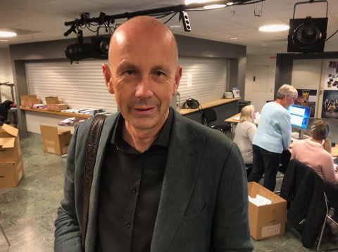 Arbiderpartiet 1. plass: Ordfører Ola Nordal.