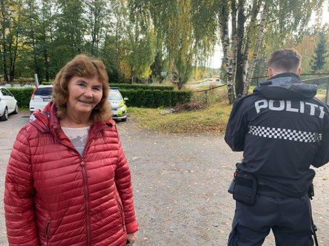 Synnøve Hagenes fra Fagerstrand ønsker UP tilbake for å avholde flere kontroller i området.