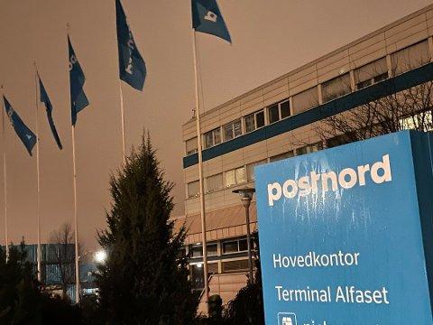 Postnord på Alfaset har et pågående koronautbrudd. Det medfører endringer og forsinkelser i noen leveranser. Foto: Avisa Oslo