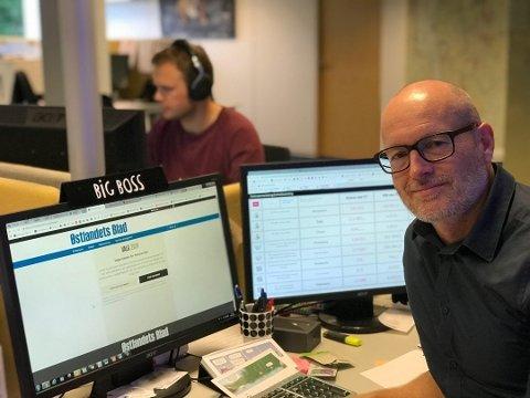 PÅ RIKTIG VEI: - Utrolig morsomt at vi har passert 10.000 i opplag igjen, sier ansvarlig redaktør Martin Gray.