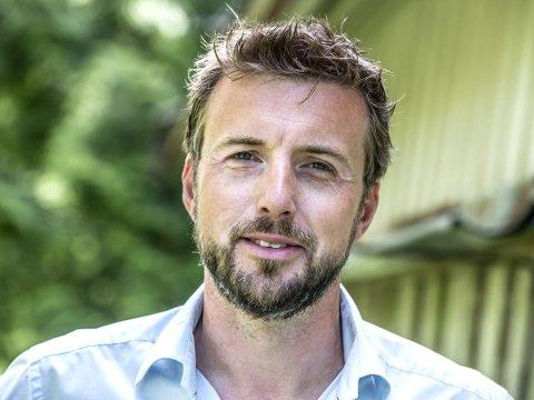 LITT SKUFFET: Daglig leder Espen Pettersen i Vinkl trodde detaljreguleringen for Kirkeveien 1 skulle gå igjennom formannskapet onsdag.