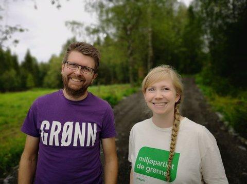 Hans Martin Enger og Marthe Arnesen
