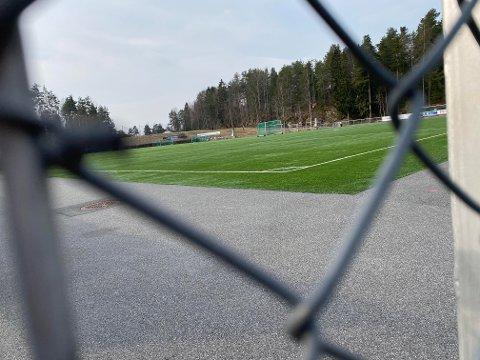 ÅPEN FORELØPIG: Sofiemyr kunstgress.