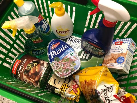 SALGSØKNING: Disse produktene var det stor omsetningsvekst på i mars 2020 mot samme måned i fjor. Foto: Nina Lorvik/Nettavisen