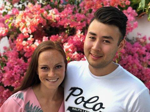 Karoline Skår og Sander Nyhagen har spart i flere år for å få råd til å kjøpe sin første bolig.
