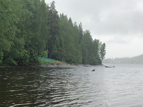 Etter det Enebakk Avis kjenner til skal det ha vært en villcamp i et par års tid ved Mjær. På andre siden av vannet går Fylkesveg 120 mellom Moss og Lillestrøm gjennom Enebakk.