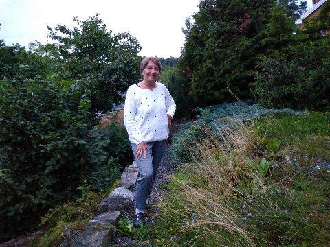 Åshild Krogdahl fikk borreliose i sommer, og tror hun ble bitt av flått ved hytta i Hvitsten.