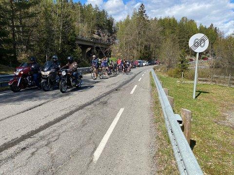 FRA 80 TIL 50:Thomas Sjøvold  vil at fartsgrensen på Gamle Mossevei senkes til maks 50 km/t.