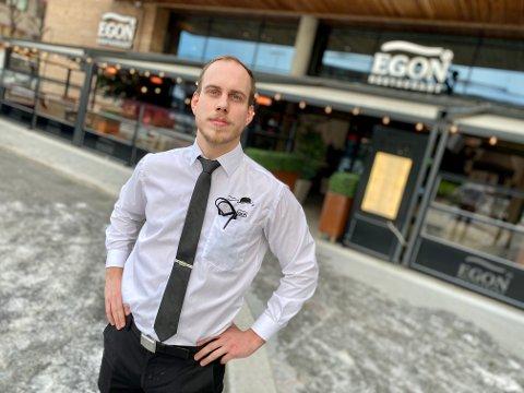 LENGTER ETTER SOMMER: Sommeren i fjor reddet fjoråret for Mathias Hynne og Egon Restaurant i Ski. Nå håper han på en god påske og sommer i 2021.
