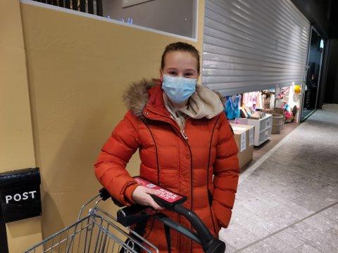 KLAR FOR Å KLEMME: Sandra Kolsrud (25) håper det blir mulig å klemme så fort som mulig.